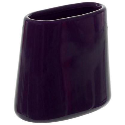 Стакан для зубных щеток настольный Veta керамика цвет фиолетовый