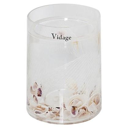 Стакан для зубных щеток настольный Vidage Galf акрил  цвет прозрачный
