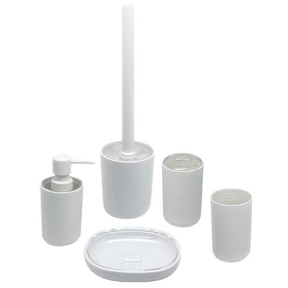 Стакан для зубных щеток настольный Vidage Parma пластик цвет белый