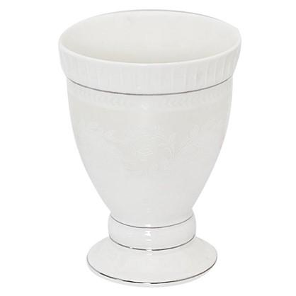 Стакан для зубных щеток настольный Wess Elegance керамика цвет белый