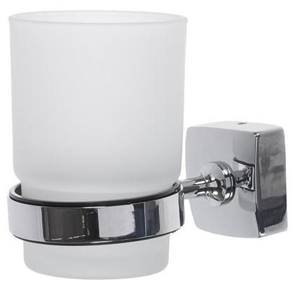 Стакан для зубных щеток подвесной Sensea Kvadro цвет хром