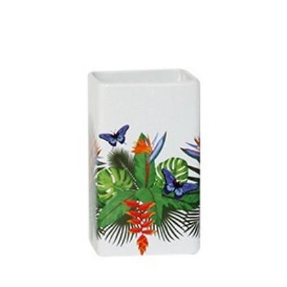 Стакан для зубных щеток Tropics керамика
