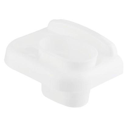 Купить Стакан подвесной для зубных щеток Prime пластик цвет белый дешевле