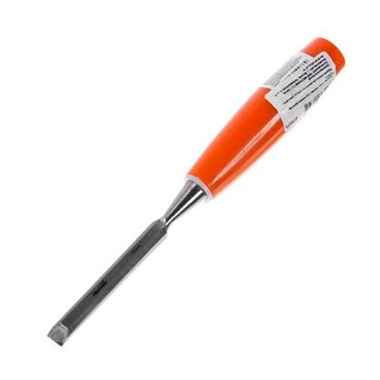 Стамеска плоская Sparta 10 мм с пластиковой ручкой