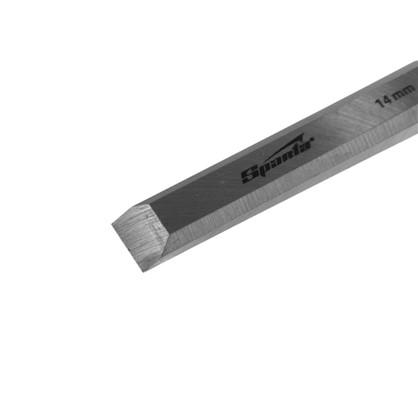 Стамеска плоская Sparta 14 мм с пластиковой ручкой