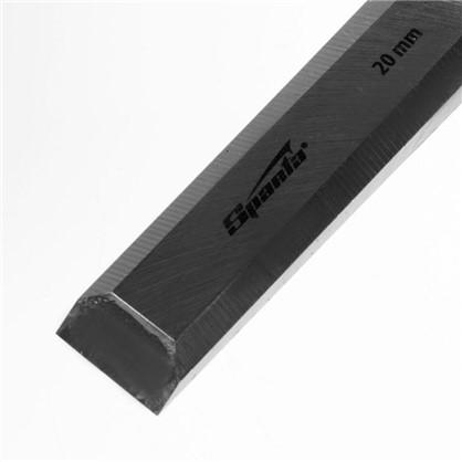 Стамеска плоская Sparta 20 мм с пластиковой ручкой