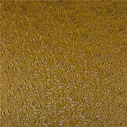 Стекло узорчатое Диамант 4 мм цвет золото