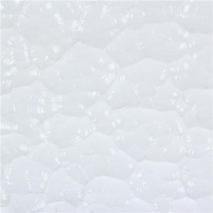 Стекло узорное Атлантик 4x1080х1420 мм цвет прозрачный