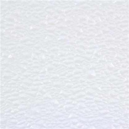 Стекло узорное Диамант 4x1080х1420 мм цвет прозрачный