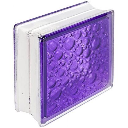 Купить Стеклоблок Богема Савона цвет ярко-аметистовый дешевле
