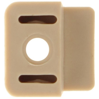 Стеклодержатель пластик цвет бежевый 8 шт.