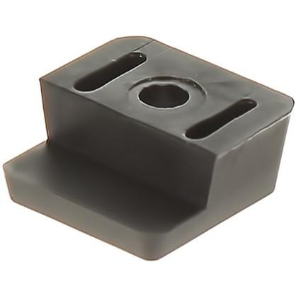 Стеклодержатель пластик цвет венге 8 шт.