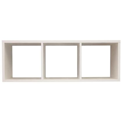 Стеллаж 3 секции 103x36x31 см цвет белый