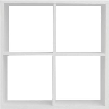 Купить Стеллаж 4 секции 70x70x31 см цвет белый дешевле