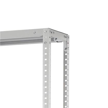 Стеллаж Практик LMS 200x100x30 см 4 полки 100 кг металл