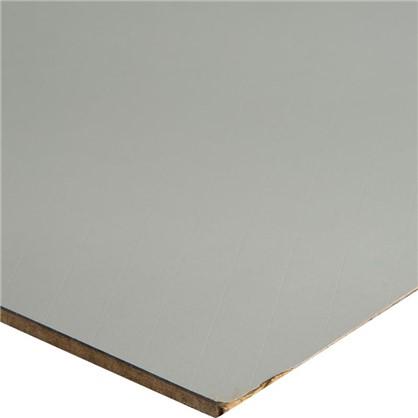 Стеновая панель Миракл 240х60х0.5 см МДФ цвет серый
