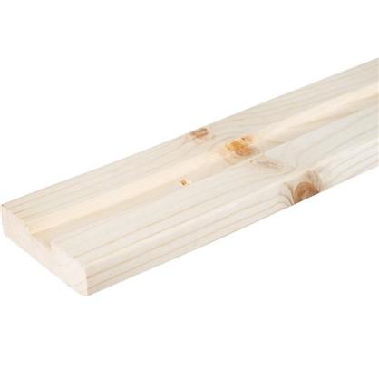 Стойка 1-x пазная для стеллажа 2000x67x18 мм дерево 1 шт.