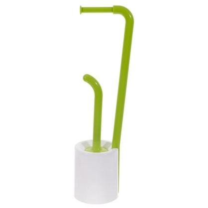 Купить Стойка для ванной комнаты напольная цвет зелёный дешевле
