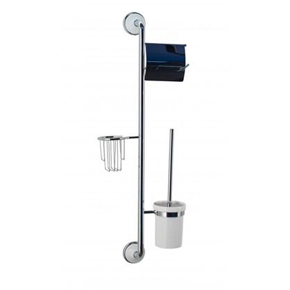 Стойка-ёршик с держателем туалетной бумаги и освежителя воздуха Aster