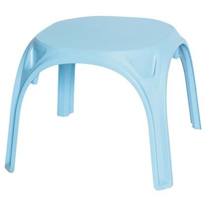 Купить Стол детский голубой пластиковый дешевле