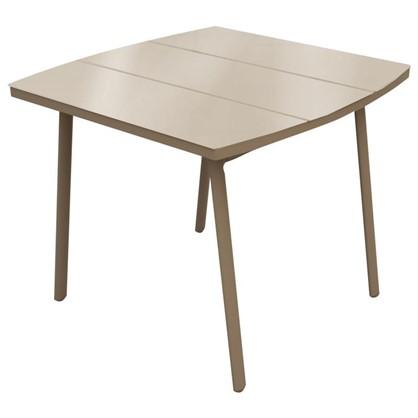 Стол садовый Тауэр 90x75x90 см металл/стекло