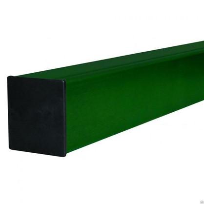 Столб 40х40х3000 мм цвет зелёный