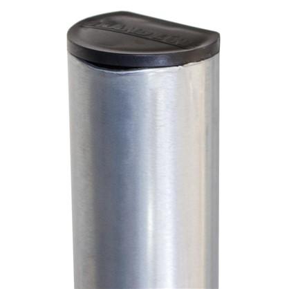 Столб для забора 51х2500 мм оцинкованный