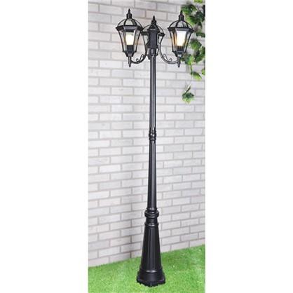 Купить Столб уличный Elektrostandard Capella F/3 3хЕ27х60 Вт IP33 цвет черный дешевле