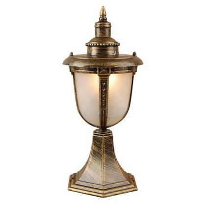 Купить Столб уличный Электростандарт Atlas малый 1xE27х60 Вт 37 см цвет бронза дешевле
