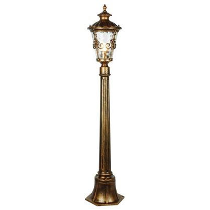 Купить Столб уличный Электростандарт Diadema 1xE27х60 Вт 11 м цвет черненое золото IP44 дешевле