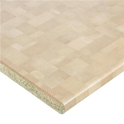 Купить Столешница №2044 300х3.8х60 см ДСП цвет деревянный брус дешевле