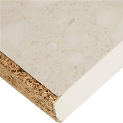Купить Столешница №905 244х2.6х60 см ЛДСП цвет белые камушки дешевле