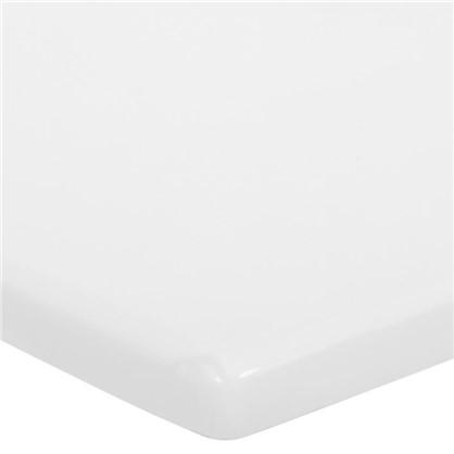 Купить Столешница под раковину 120 см цвет белый дешевле