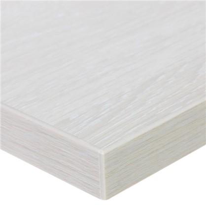 Столешница под раковину Порто 47х80 см цвет дуб белёный