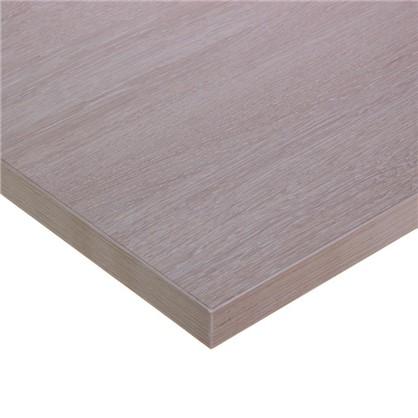 Купить Столешница под раковину Порто 50х80 см дуб белёный дешевле