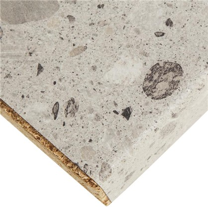 Столешница Рашблю 240х3.8х60 см ЛДСП цвет серый