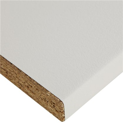 Купить Столешница Вайт 240х3.8х60 см ЛДСП цвет белый дешевле