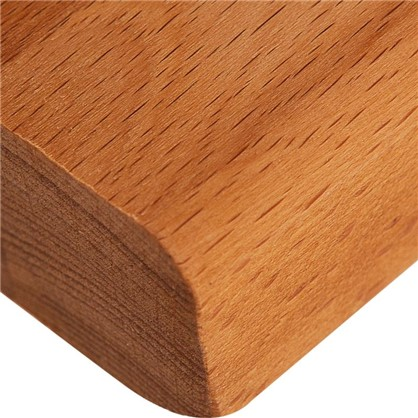 Столешница Вуд 240х4х60 см массив бука цвет бук