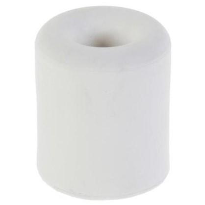 Стопор дверной LDS009WH резина цвет белый