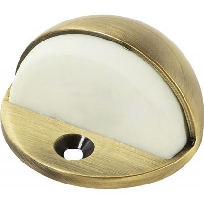 Стопор дверной MP-HL-AB ЦАМ цвет бронза