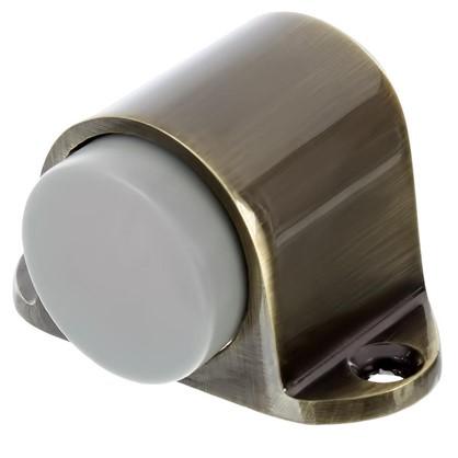 Купить Стопор дверной Palladium 02 ЦАМ цвет антик бронза дешевле