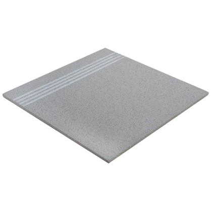Ступень EG12 30х30 см 1.53 м2 керамогранит цвет серый