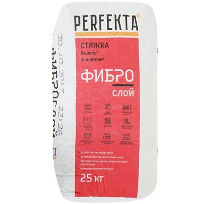 Стяжка пола Perfekta Фиброслой 25 кг