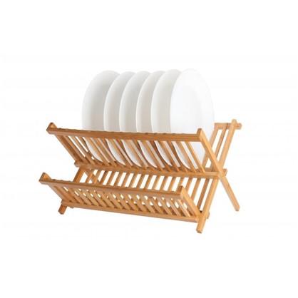 Сушилка для посуды Bao 445x400x260 мм цвет бамбук