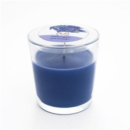 Свеча ароматизированная в стакане Лаванда
