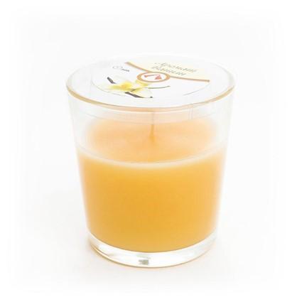 Свеча ароматизированная в стакане Ваниль