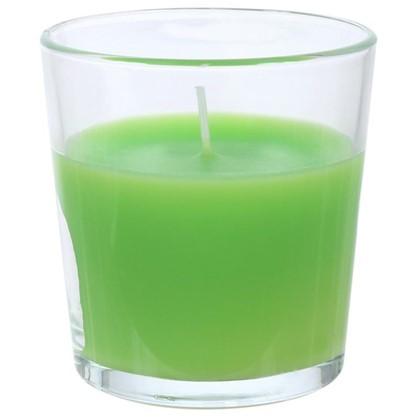 Свеча ароматизированная в стакане Зелёное яблоко