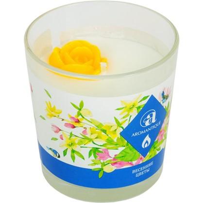 Свеча ароматизированная Весенние цветы