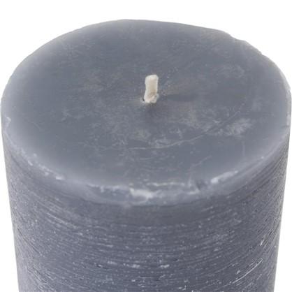 Свеча круглая размер S цвет серый