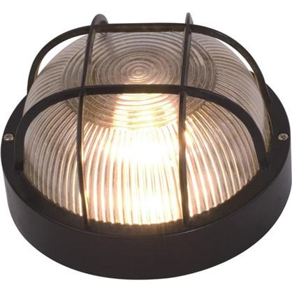 Светильник круглый 1хЕ27х60 Вт IP44 цвет черный